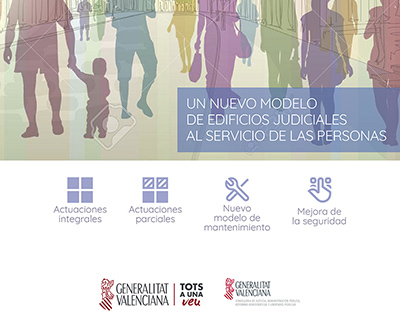 """Cliente: Consellería de Justicia Acción: Campaña """"Plan de Infraestructuras Judiciales"""" (Propuesta)"""