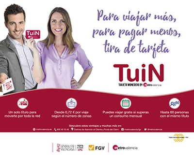 Metrovalencia Campaña Promoción Tarjeta Twin