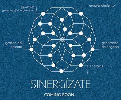 Cliente: Sinergízate  Acción: Página web nueva plataforma de emprendimiento