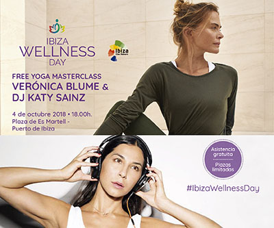 Cliente: Puro Bienestar Acción: Piezas gráficas para promoción y difusión de la masterclass de Puro Bienestar en Ibiza Wellness Day